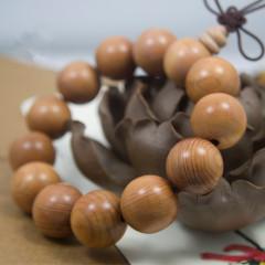 天然红豆杉手串2.0民族风饰品佛珠手链男女士情侣款108颗含紫杉醇 男女 2.0