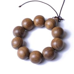 合盛缘  极品金丝楠木 2.5cm  手串