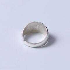 白银戒指韩版002