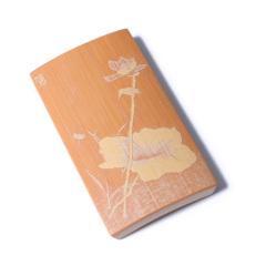 楼兰文玩小铺 奇趣收藏 工艺品 留青竹刻 荷、竹
