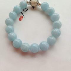 海藍寶水晶   手串