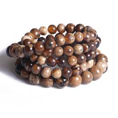 菩提缘   缅甸根珀项链   重量90.62g   黄金珠宝玉器琥珀