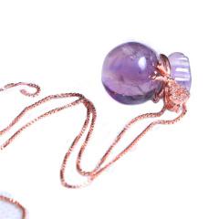 隆譽珠寶  s925紫晶福袋  時尚飾品水晶飾品