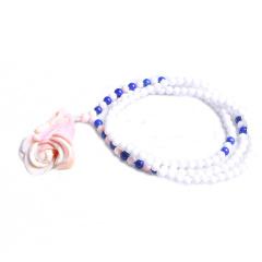 隆誉珠宝  玫瑰花贝壳花件  时尚饰品贝壳