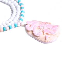 隆誉珠宝  凤凰贝壳花件  时尚饰品贝壳