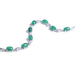 隆譽珠寶  s925玉髓手鏈  玉髓手鏈