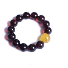 珍宝玉坊   血珀(规格1.7-1.8) 圆珠(规格2.0)  黄金珠宝玉器血珀