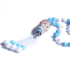 昇和珠宝    白砗磲毛衣链   6mm