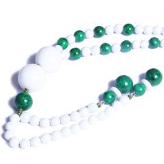 昇和珠宝  白砗磲配干青   6mm