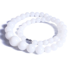 昇和珠宝  白砗磲项链   5A链