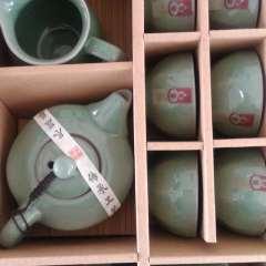 古今阁   哥窑茶具  陶瓷茶具套装