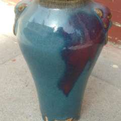 古今阁  老钧瓷瓶  陶瓷瓶