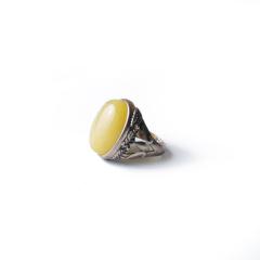 雅集堂   蜜蜡戒指   黄金珠宝玉器
