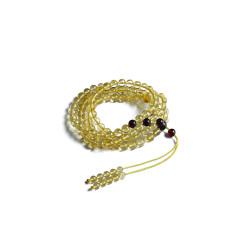文缘阁   0.6mm金铂链108颗   重量15.30g   时尚饰品手链