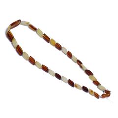 伊戈尔 琥珀 菱形多宝琥珀项链(乌克兰产)